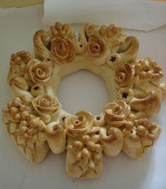 Sicilian decorative bread ~ Picture Idea Only