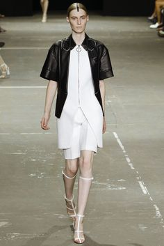 Alexander Wang Spring 2013 Ready-to-Wear Fashion Show - Julia Nobis
