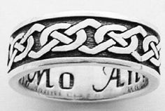 page of celtic rings