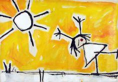 Sunny days Öl auf Leinwand; 70 x 100 cm; 2015