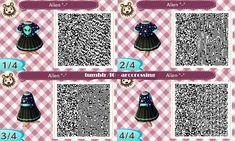 acnl qr code roben - New Ideas Animal Crossing 3ds, Animal Crossing Qr Codes Clothes, Cat Dresses, Nice Dresses, Ac New Leaf, Plants Are Friends, Post Animal, Dress Codes, Animals