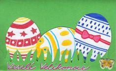 Velikonoční přáníčka s vajíčky Crafts For Seniors, Easter Crafts For Kids, Yoshi, Christmas Gifts, Arts And Crafts, Cards, Toddler Activities, School, Easter