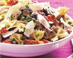 Meatless Monday with Roasted Veggie Pasta http://planetforward.ca/blog/meatless-monday-with-roasted-veggie-pasta/