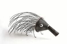 """Gilbert Legrand – The sculpture # """"metalartdiy"""" Gilbert Legrand – The sculpture # … – Garden Projects Metal Yard Art, Scrap Metal Art, Found Object Art, Found Art, Sculpture Metal, Art Sculptures, Photo Sculpture, Sculpture Garden, Sculpture Ideas"""