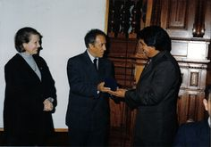 "Medal ""Juan Pablo Vizcardo y Guzmán"". Awarded by Congress of the Republic of Peru, Lima, PERU (2002)"
