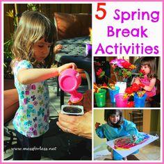 5 Spring Break Activities | Mess For Less