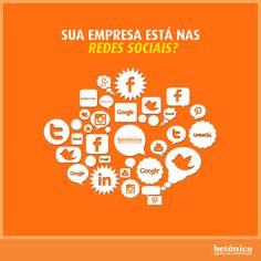 """""""Dos milhões de brasileiros que acessam a internet, exatos 97% estão nas redes sociais"""". Conheça nossos serviços de comunicação e publicidade que conectam pessoas e marcas. #betônico #agência #publicidade #propaganda #pp #socialmedia #redessociais #comunicação #conectividade #negócio"""