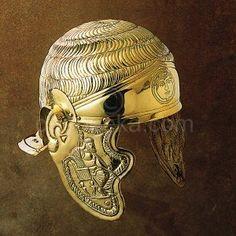 1St Century Roman Cavlary Embossed Helmet