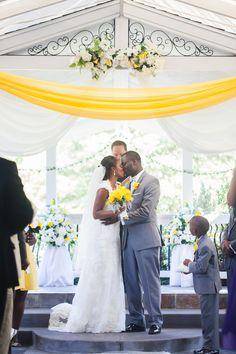 Munaluchi Bride Magazine   Trinidadian Jamaican Puerto Rican Wedding   Yellow Wedding   Real Weddings