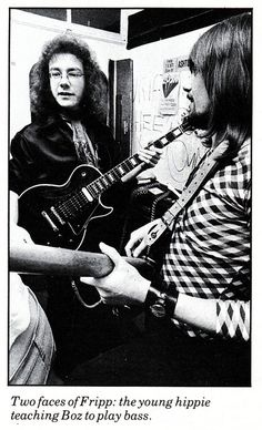 King Crimson, Robert Fripp & Boz Burrell