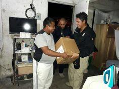 """""""Mano con mano"""" se entrega ayuda de los chihuahuenses en Morelos."""
