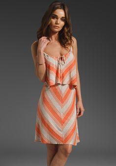ELLA MOSS Juniper Dress in Papaya at Revolve Clothing - Free Shipping!