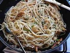 Chicken Chowmeinby Mrs Admin (mashuda) on 21 Jan 2017 Dumpling Recipe, Dumplings, Jan 2017, Noodles, Spaghetti, Cooking Recipes, Pasta, Chicken, Ethnic Recipes