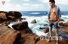 CAMPAIGNS: Gui | GUESS, Summer '14 | Wilhelmina News - Blog for Wilhelmina Models