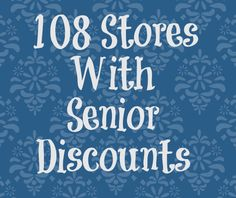 The most up-to-date list of senior discounts. Save on everything including groceries, clothing, travel, restaurants and more! Discounts Just for Seniors. Tuesdays mean a 5% discount for seniors. (much like a Walmart without the clothing department) Reply. Peggy ChrismanSaturday.
