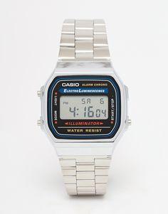 Image 1 ofCasio A168WA-1YES Digital Bracelet Watch