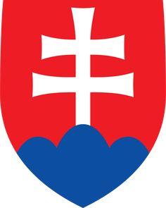 Coat of arms of Slovakia - Štátny znak Slovenska – Wikipédia Bratislava, Slovakia Flag, Cross Symbol, Warsaw Pact, National Animal, Central And Eastern Europe, Pattern Photography, Austro Hungarian, Prague Spring
