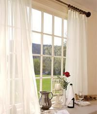Country Curtains Pinch Pleat Sheers 96