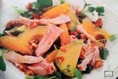 Insalata di pollo con arance e avocado un cortorno sfizioso e facile da preparare