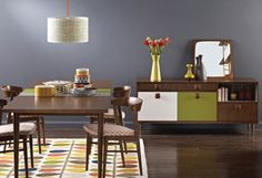 When interiors doyenne Orla Kiely produces a line of new retro-styled pieces (above), it's clear we're in for at least another season of retro. Think sleek, well-tailored furniture with strong mid-century leanings, fresh patterns with a 1960s feel and old-style coffee pots, graphic-printed bowls and a renewed love for the geometric. Kiely's new House range went on sale in early December and hits selected Irish stockists in the New Year. Orlakiely.com.
