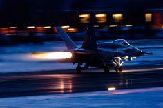 https://flic.kr/p/RLVTde | 'Night Sparks', F/A-18C Hornet, Swiss Air Force | Sion, Canton of Valais, Switzerland