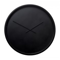 Zwarte klok van staal Diy Clock, Clock Wall, Shops, Minimalist Decor, Diy And Crafts, Sweet Home, Interior, Design, Home Decor