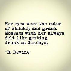 Drunk on Sundays...;)