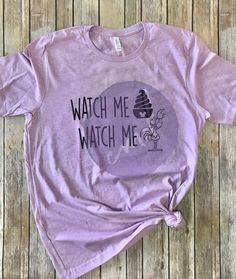 e88a0f4a8 Dole Whip & HeiHei T-shirt, Watch Me Disney Shirt, Disney Family Shirts,  Disney World Shirt, DisneyLand Shirt