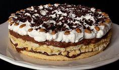 Tiramisu v dortové formě Köstliche Desserts, Delicious Desserts, Yummy Food, Ital Food, Oreo Cupcakes, Sweet Cookies, Tiramisu, Nutella, Cake Recipes