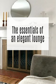 If you are looking to create and design  an Elegant Lounge here are the design, decor and furniture tips tyou need for heat sophisticated and luxurious look   #interiordesign #elegant #luxury #home #abeautifulspace Beautiful Mirrors, Beautiful Space, Beautiful Homes, Dark Wood Floors, Small Homes, Simple House, Home Look, Vintage Rugs, Decorating Tips