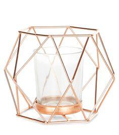 Mid Pink Geometric Lantern | New Look