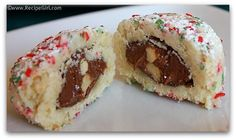 Filled Snowball Cookies