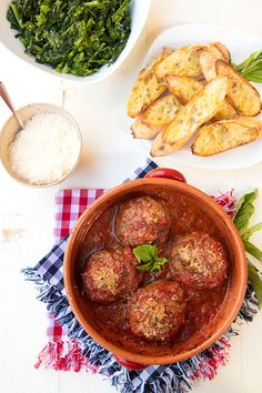 Gigantic Meatballs For National Meatball Day {Polpettone} - March 9th is National Meatball Day. Why not celebrate with these big, juicy meatballs cooked in a vibrant tomato sauce? #meatballrecipes #italianmeatballs, #nationalmeatballday #italianfoodforever