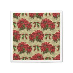 Avoid any messy dinners with Floral napkins from Zazzle. Browse through our marketplace of paper and cloth napkins ranging in different styles and sizes. Christmas Lamp, Christmas Paper, Party Napkins, Cloth Napkins, Christmas Shopping, Pattern Paper, Pendant Lamp, Ipad Case, Cool Designs