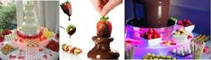 Chocolate Fondue Fountain Hire - 4 Layer Overnight / weekend Hire $200
