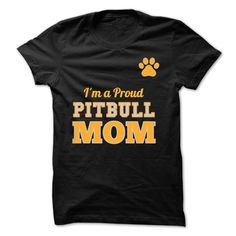 Proud Pitbull MoM Tees amp amp Hoodie Shirt & Tee Monkey T Shirt, Dog Shirt, Cat Shirts, Funny Shirts, Nice Shirts, Awesome Shirts, Mothers Day Shirts, Family Shirts
