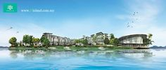 Bukit Subang New Semi-D Corallia D Island Puchong - Corallia Semi-D @ D'Island Good Fung Sui Projects Mixed Lake Side Development by LBS Consulted By Joey Yap BU : 3,968sf LA : 40×80 or More Ceiling high 14feet ground floor and is look spacious n luxury. Security – Guarded / 3 Tiers security Features – Landscaped lake with aquatic features  – Parks and jogging tracks  – Lakeside recreational facilities  – Commercial & retail area