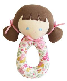 This sweet Audrey Grab Rattle makes a beautiful newborn gift. Lovingly crafted from the finest...
