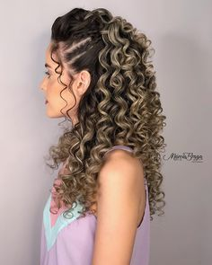 to curly hairstyles hairstyles easy hairstyles for grade hairstyles 50 year olds hairstyles mens 2020 hairstyles natural hair style hairstyles is beautiful Quiff Hairstyles, Party Hairstyles, Curled Hairstyles, Wedding Hairstyles, Relaxed Hairstyles, 50 Hair, Hair Dos, Heart Shaped Face Hairstyles, Medium Hair Styles