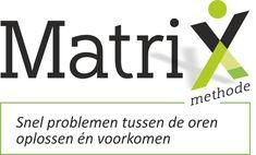 MatriXmethode - Binnen één gesprek gedoe tussen de oren oplossen