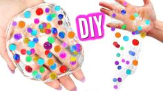 DIY ORBEEZ SLIME! Make Orbeez Glass Putty!