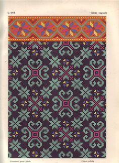 Latvian ornaments & charts - Monika Romanoff - Picasa Web Albums of Knitting Charts, Knitting Stitches, Knitting Designs, Knitting Patterns, Loom Patterns, Beading Patterns, Embroidery Patterns, Cross Stitch Charts, Cross Stitch Patterns