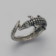 Alligator Wrap Around Ring