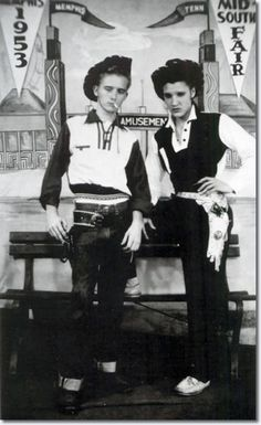 Elvis and his cousin