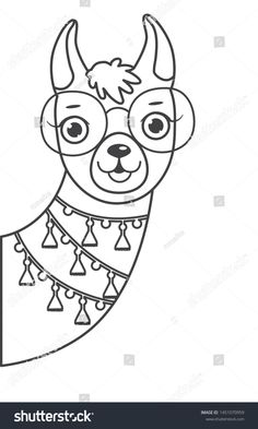 Cartoon Drawings, Animal Drawings, Cute Drawings, Drawing Sketches, Cute Coloring Pages, Coloring Books, Embroidery Art, Embroidery Patterns, Ben E Holly