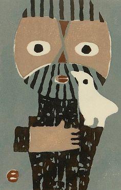 Umetaro Azechi, Japanese printmaker