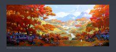 Skyforge. Autumn Setting 02 by Andead.deviantart.com on @DeviantArt