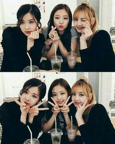 Find more awesome blackpink images on PicsArt. Kpop Girl Groups, Korean Girl Groups, Kpop Girls, Blackpink Jennie, Forever Young, K Pop, Foto Rose, Divas, Bff