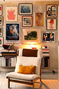 Inspiration Wand, Home Decor Inspiration, Living Room Decor, Living Spaces, Bedroom Decor, Retro Living Rooms, Home Decor Styles, Home Interior Design, Home And Living