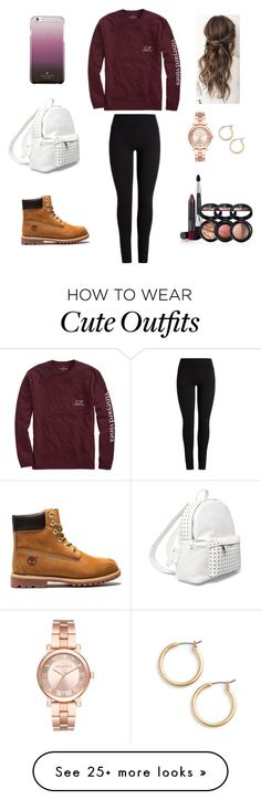 """Cute outfit"" by stuff4m on Polyvore featuring Vineyard Vines, Nordstrom, Michael Kors, 7 Chi, Laura Geller and Kate Spade"